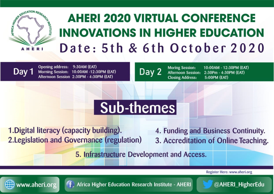 Thank You To all AHERI 2020 Virtual Conference Participants