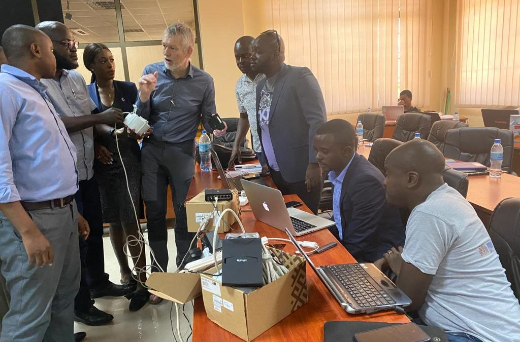 Africa Higher Education Research Institute participates in the DigI Hackathon in Dar Es Salaam Tanzania