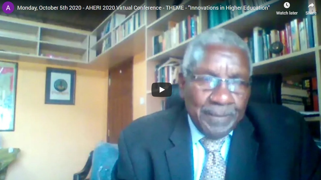 AHERI Virtual Conference 2020 Proceedings